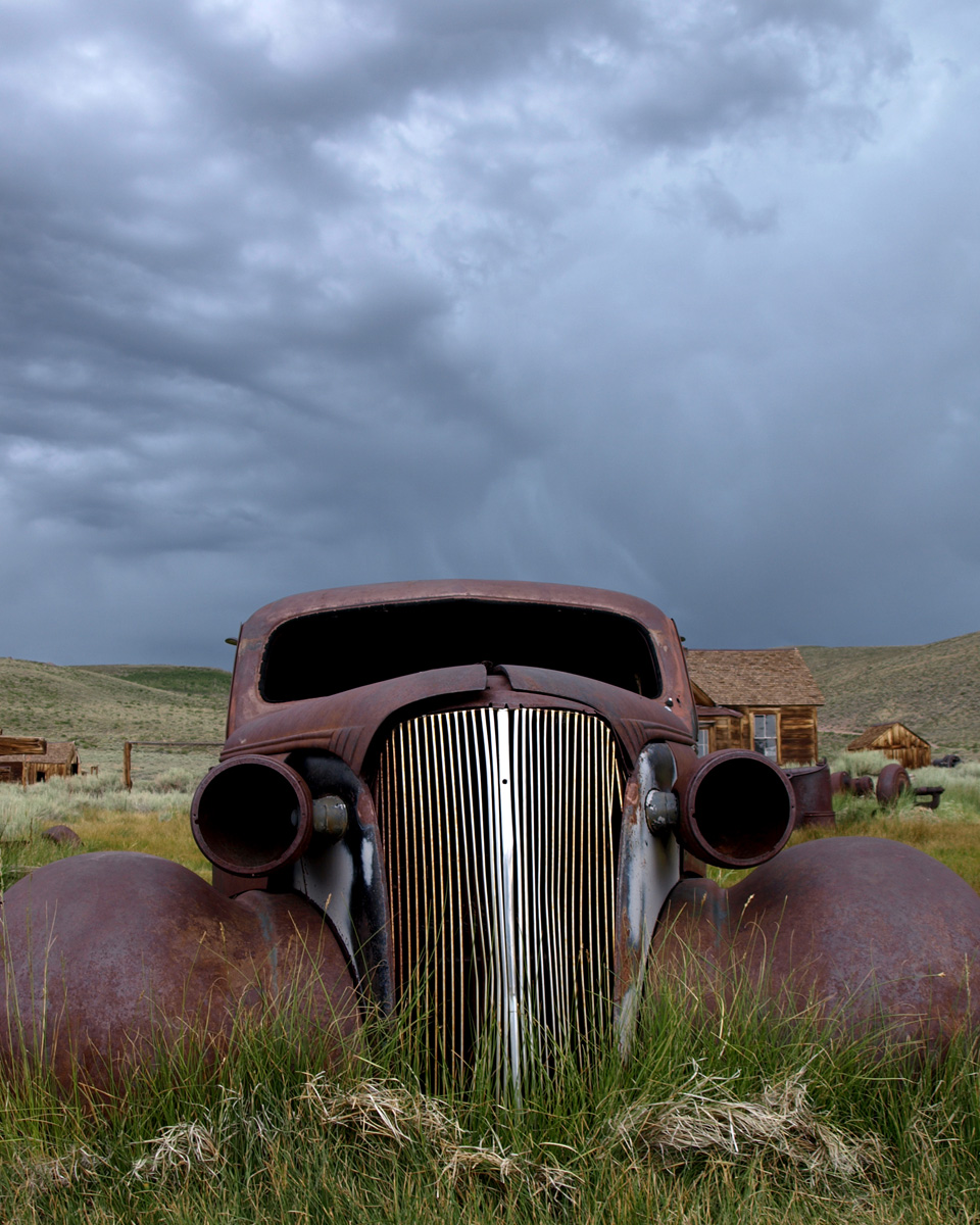RUSTED CAR, Bodie Ghost Town, California.