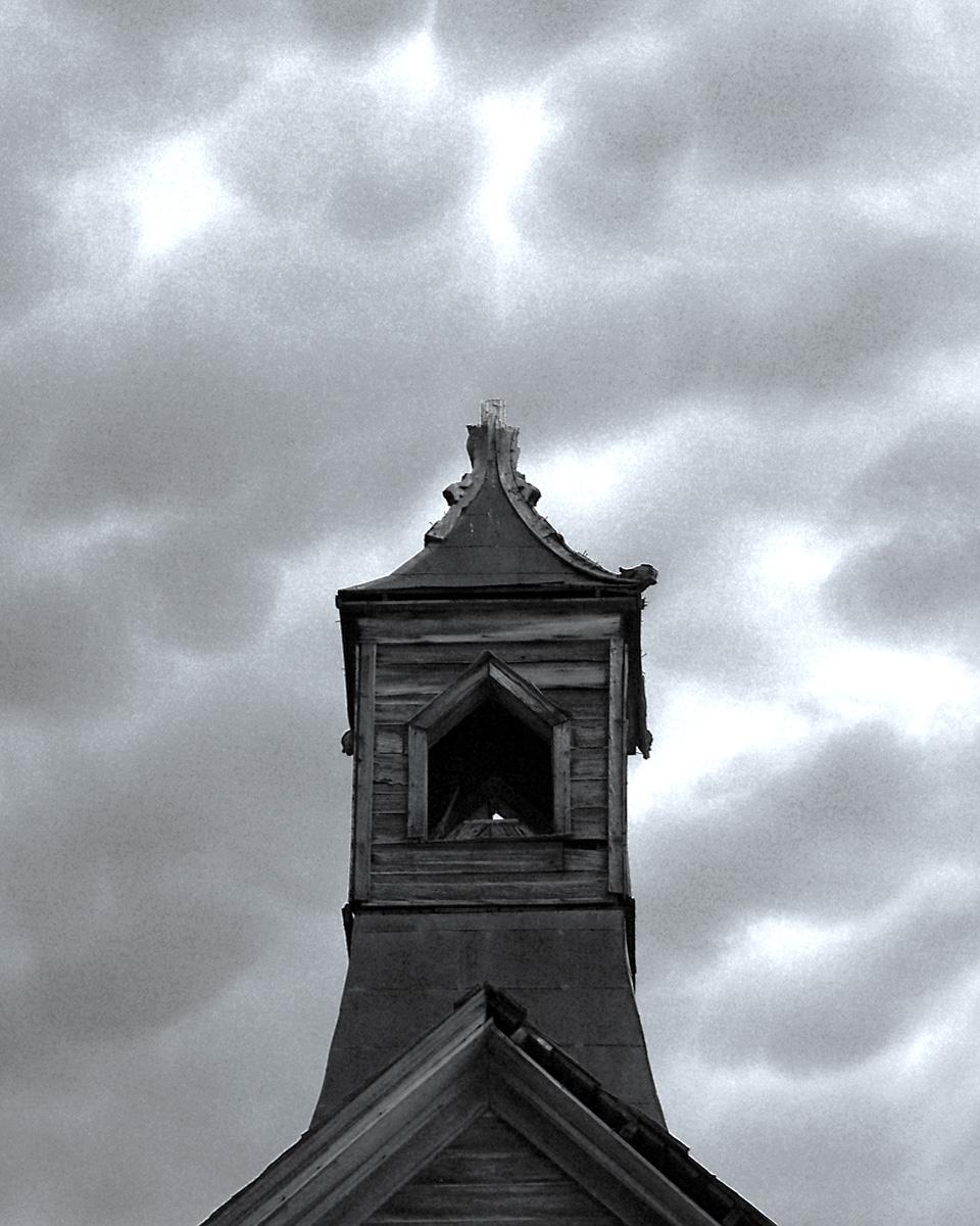 CHURCH STEEPLE 3, Bodie Ghost Town, California.