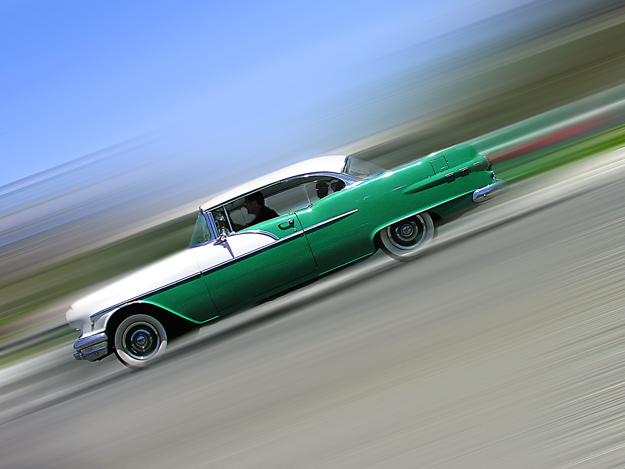 ZOOM ZOOM!  1956 Pontiac Catalina.