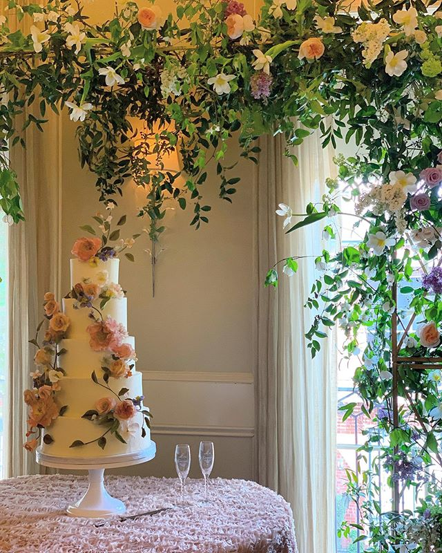 Happy Monday, lovelies! We hope your weekend was as pretty as this cake and that you're staying safe today with the weather moving across the plains, west/central Texas!  ___ Cake: @buttercuphouston  Floral: @maxitflowerdesign  Design: #CLEvents  ___ #ButtercupHouston #ButtercupBakery #MaxitFlowerDesign #CLEcelebrates #thedailywedding #huffpostido #ohwowyes #southernweddings #soloverly #marthaweddings #wedding #weddingplanner #calledtobecreative #bridesofhouston  #weddingsinhouston #houstonweddingplanner #texasweddings #destinationwedding #thehappynow #theprettypursuit #abmlifeissweet #thatsdarling