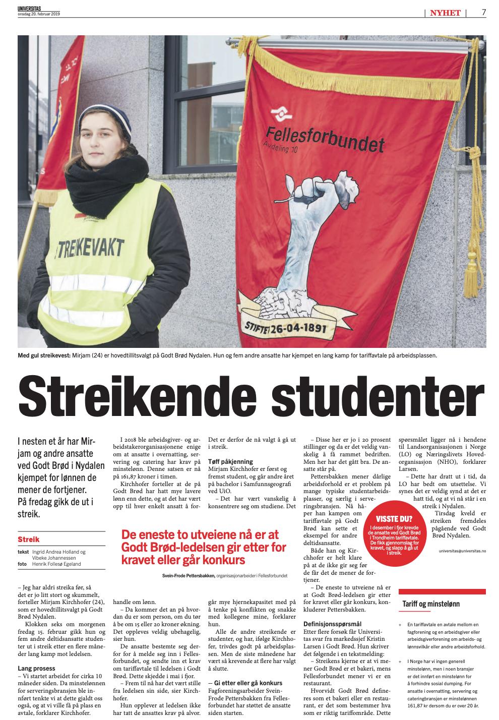 Studentsstreik -