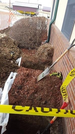 Dirt and shovel