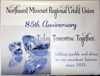 Northwest Missouri Regional Credit Union 85th anniversary