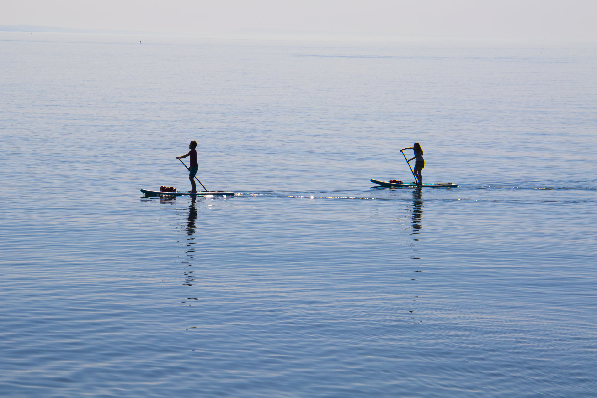 Paddleboard Yoga Training -