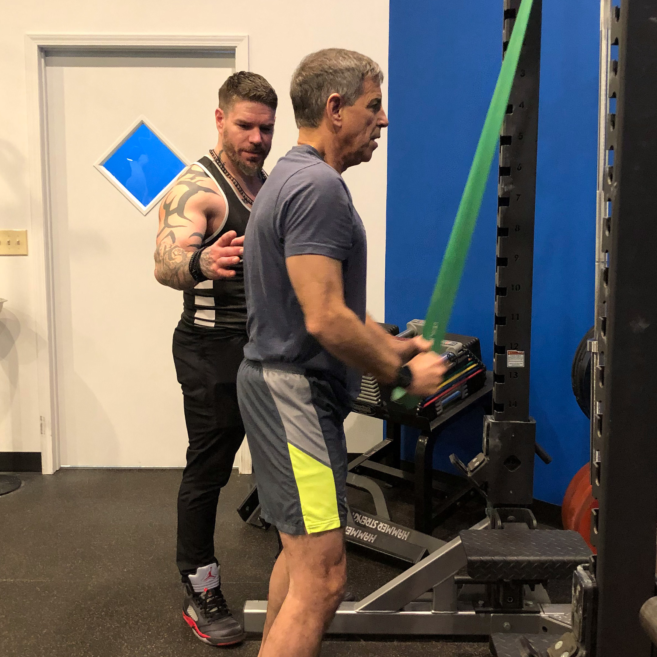 Personal Training - At TruFit, we believe that any legitimate training experience must have a foundation in science. We work one-on-one with you to achieve whatever your training goals might be. Whether it be weight loss, sports performance, or injury recovery we can get you there.