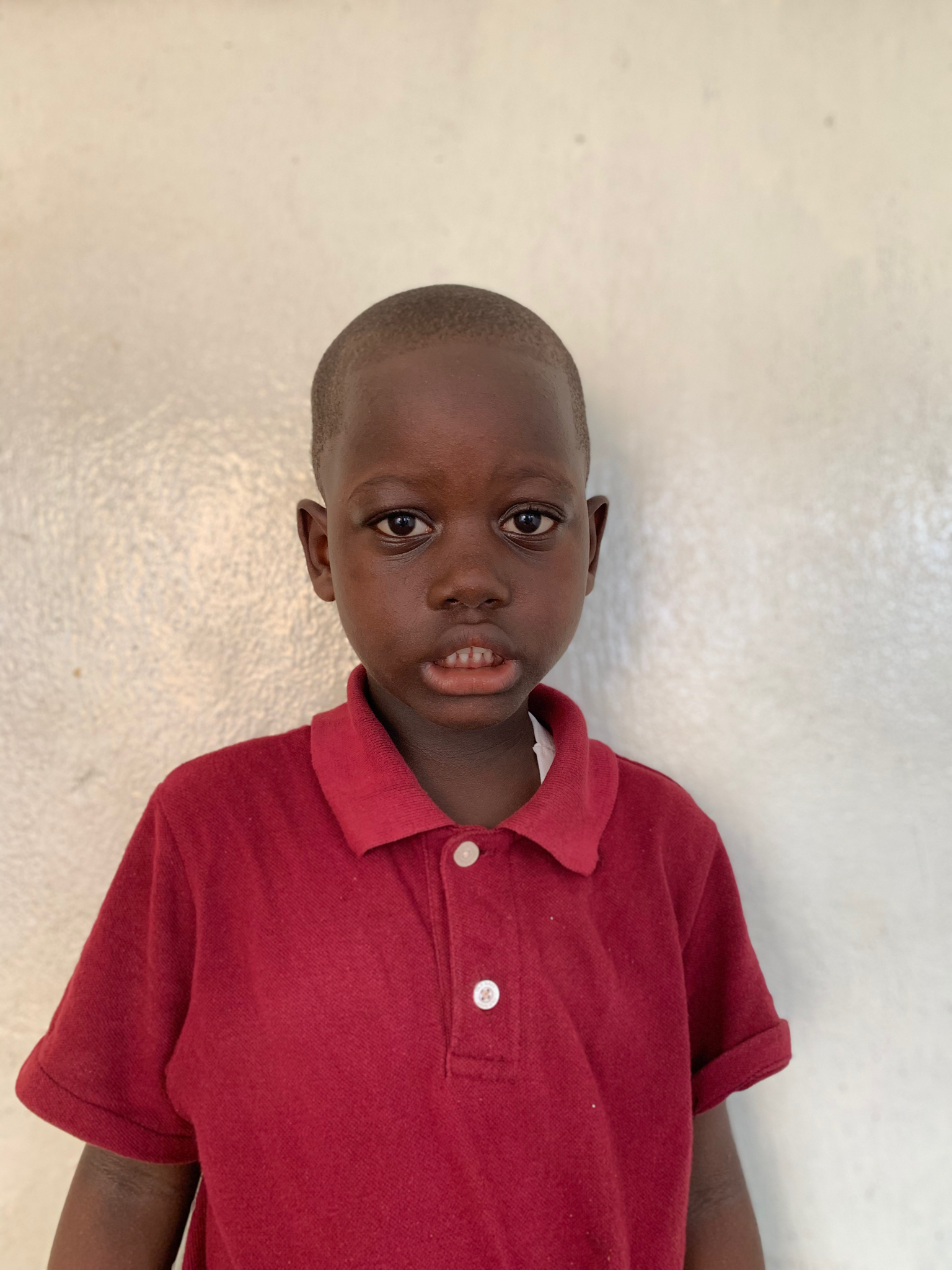 Hello, my name is Aaron Armah. - Aaron is a 4-year-old boy.Aaron lives with his parents, brother, and sister; and loves drawing and writing, football, and the color red.