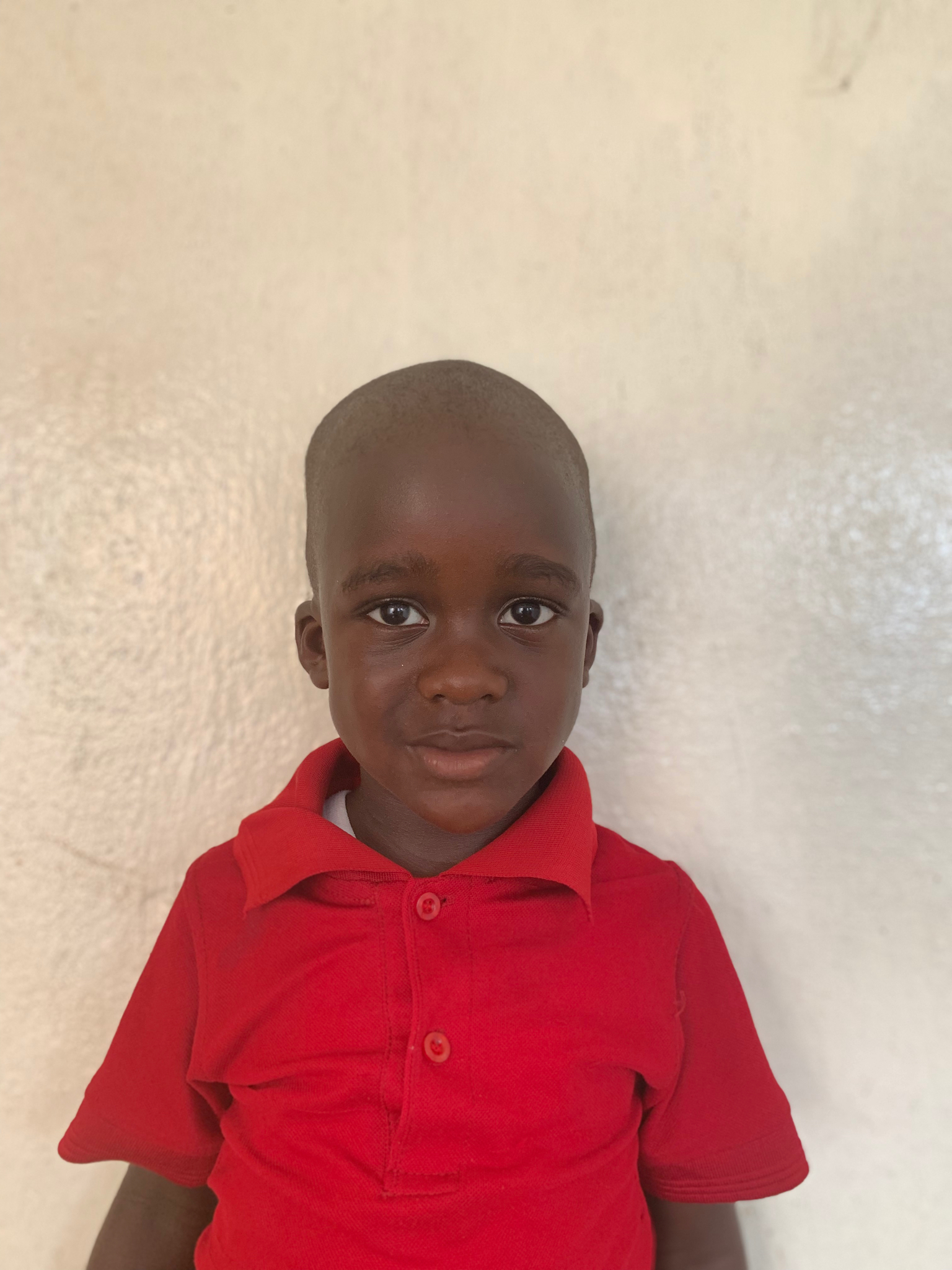 Hello, my name is Rennie Gbargee. - Rennie is a 4-year-old boy.Rennie lives with his parents, a brother, and five sisters; and loves dogs, puzzles, and the color red.