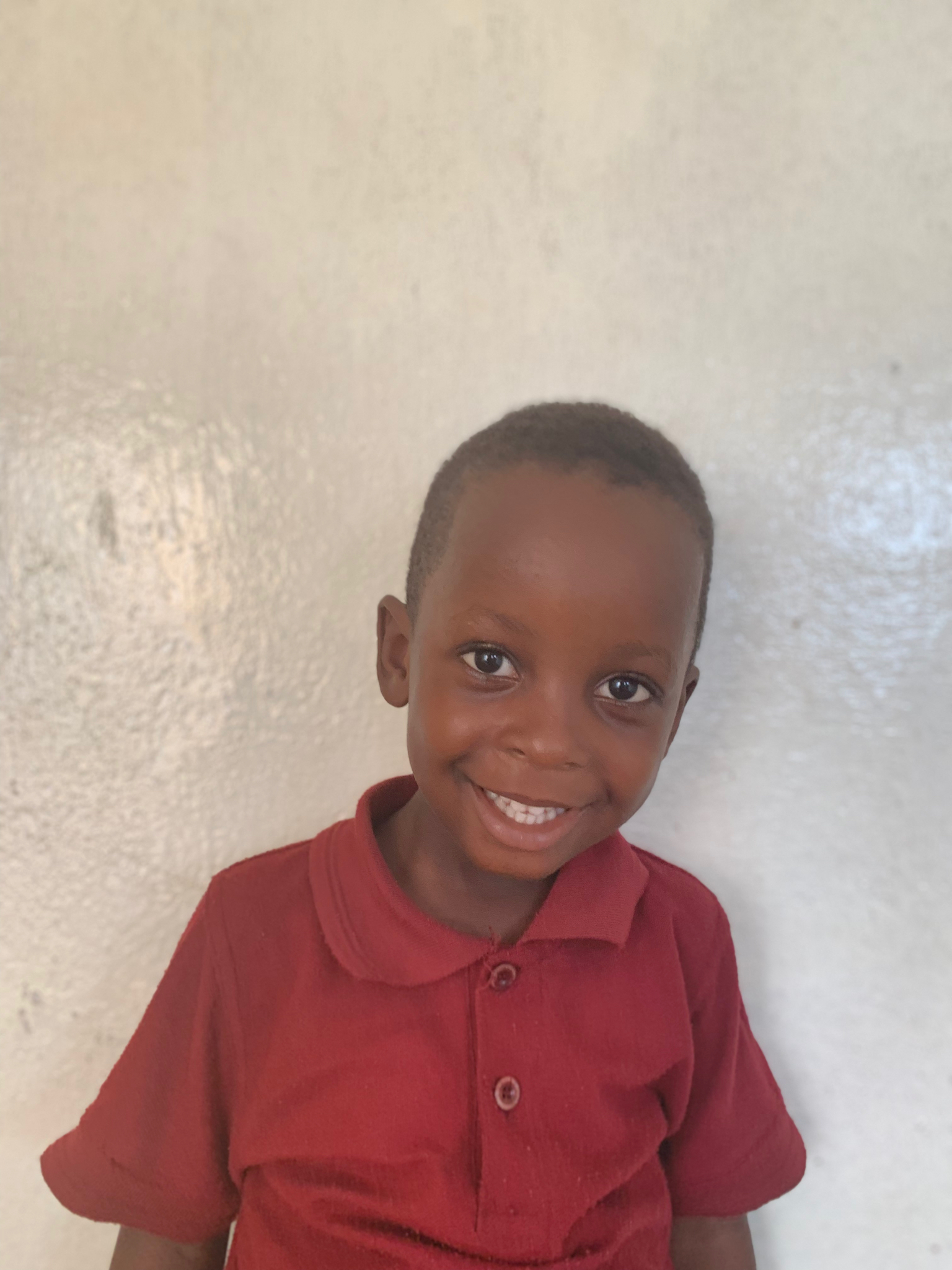 Hello, my name is Success Kpadeh. - Success is a 4-year-old boy.Success lives with his parents, a brother and four sisters; and loves elephants, writing, and the color orange.