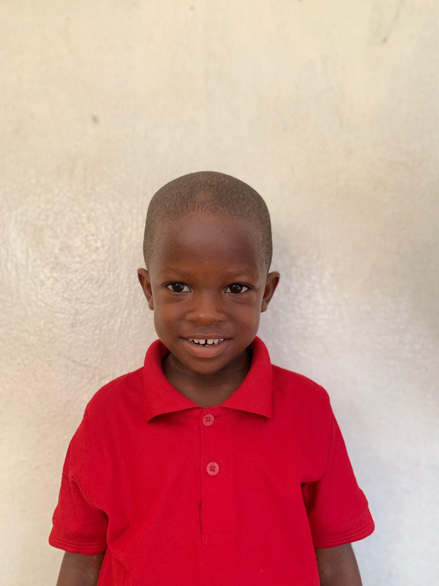 Hello, my name is Prince Sackor. - Prince is a 4-year-old boy.Prince lives with his mother, sister, and brother; and loves horses, soccer, and the color orange.