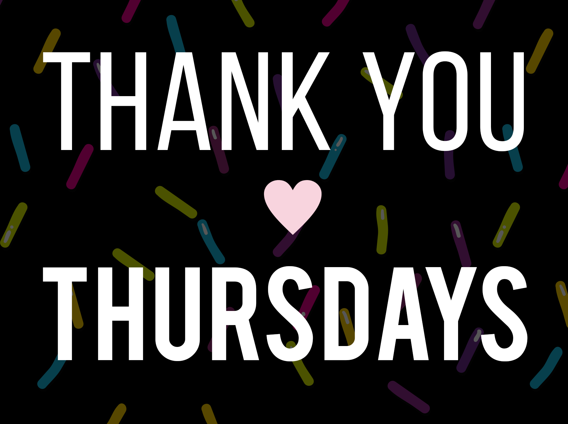 THANK YOU THURSDAY - 20% off for active and retired military, 1st responders, healthcare & teachers (with ID)
