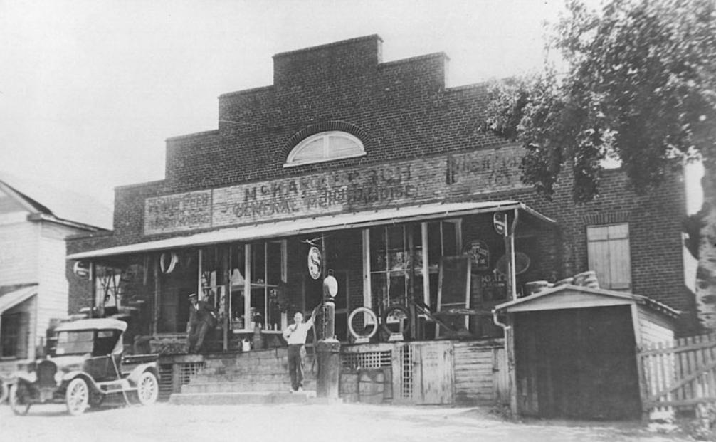 McKay & Burch General Store, circa 1917