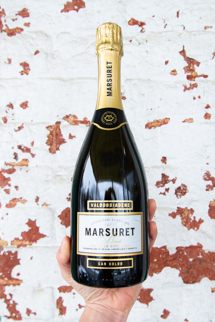 Prosecco Superiore Valdobbiadene Brut San Boldo NV - Retail: $19.95 | Sale: $17.95The crisp air flowing through the small mountain pass of San Boldo slows the ripening of the grapes, giving them great freshness and acidity. The driest and most modern version of Marsuret's Proseccos, the essence of
