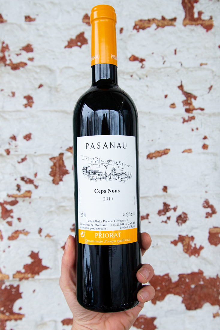 Pasanau Cep Nous 2015 - Retail: $22.95 | Sale $20.65The Pasanaus are perennial growers in La Morera, the highest municipality of Priorat, with vineyards at an elevation of over 2,400 feet. Aged for 6 months in French and American barriques, the concentrated fruits are complemented by strong minerality and wood spice on the nose and finish.80% Garnacha | 10% Merlot | 10% Syra