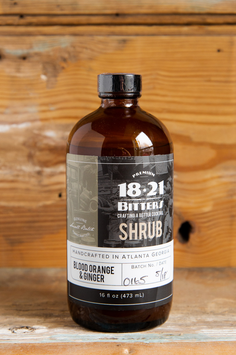 1821 Blood Orange & Ginger Shrub - Retail: $25.95 | Sale: $23.35If you're not familiar with shrubs this is a great place to start. Crisp blood orange gets a healthy kick of spicy fresh ginger in this favorite. Perfect added into a Moscow mule or try switching out your OJ in a mimosa. Alternatively, you can also keep it simple and mix with some sparkling water for a refreshing and all-natural alternative to a soda.