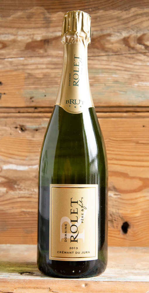 Rolet Cremant du Jura Brut NV - Origin: FranceRetail: $22.95 | Sale $20.65The family-run Rolet Estate is the second-largest wine growing estate in the Jura region of eastern France, located just north of Switzerland in one of the finest domaines of the region. Rolet is an estate full of character, with soils originating in the Jurassic and Triassic periods and where grape varieties blossom contentedly. This sparkling wine is crafted in the same traditional method as champagne. Aromas of white flowers, soft citrus, and slight yeasty notes dance beneath delicate bubbles. This is the perfect wine for every moment, from an aperitif before dinner to the end of a meal.70% Chardonnay | 30% mixed Poulsard and Pinot NoirSustainable