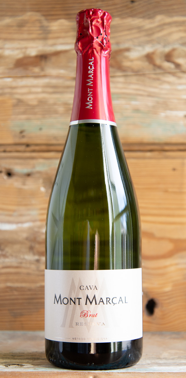 Mont-Marcal Cava Brut Reserva 2016 - Origin: SpainRetail: $15.95 | Sale $14.35The Mont Marçal estate is located on a chalky hilltop five miles south of Vilafranca del Penedès overlooking the hamlet of Sant Marçal. Their vintage dated sparkling wine is fashioned after the style of those made in Champagne using the same winemaking method. The Xarello grape contributes structure, body and acidity while the Chardonnay is known to age long and elegantly to add character as it matures. The Macabeo grape adds floral notes, acidity and helps tie all the grape characteristics together in the blend. Each variety is picked and fermented separately.Second fermentation in the bottle for a minimum of 24 months on the lees in the cellar and disgorged on order for shipment.40% Xarel-lo, 30% Macabeo, 20% Parellada, 10% Chardonnay