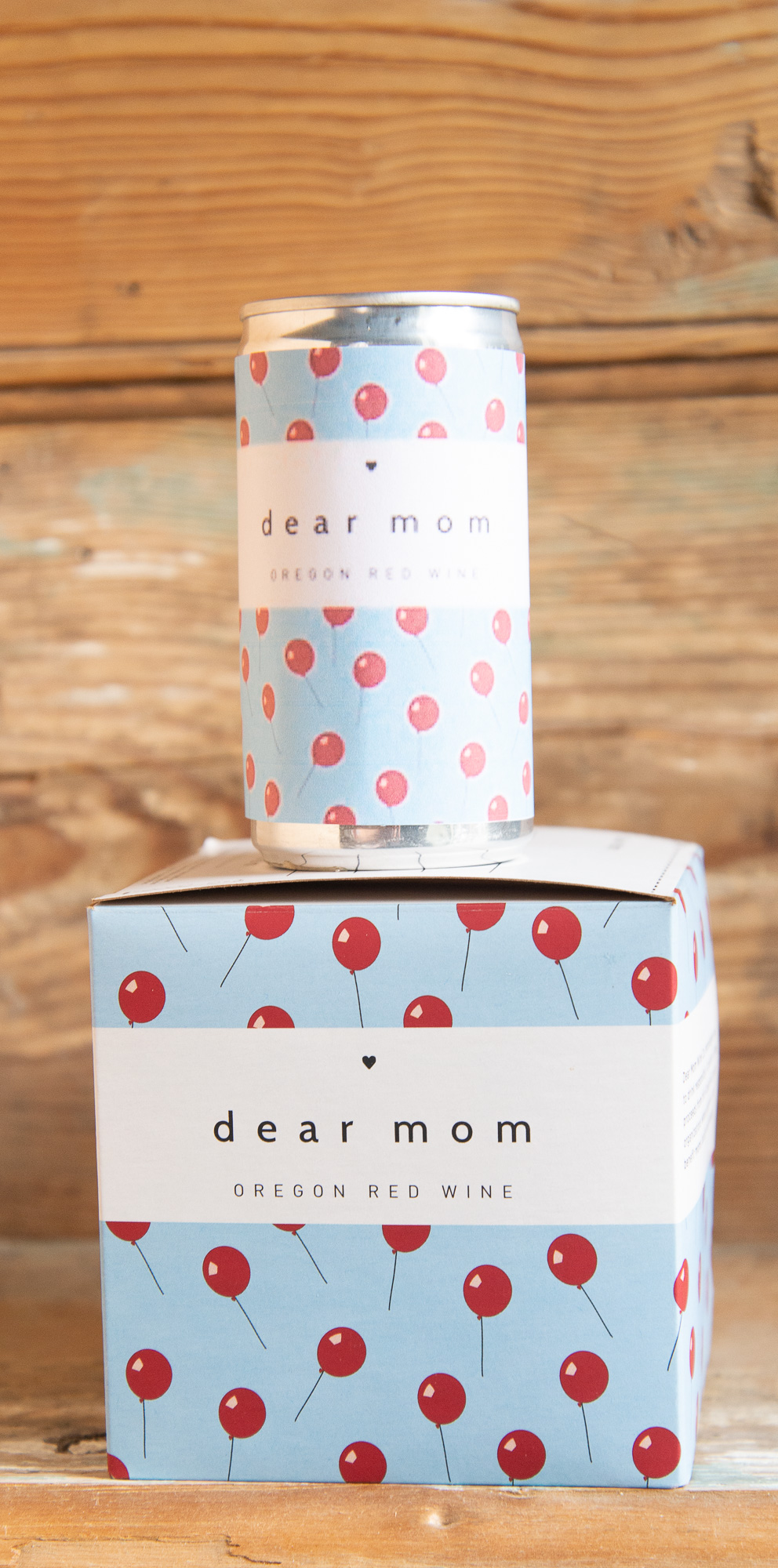 Dear Mom Canned Red Wine - Origin: OregonRetail, 4-pack: $16.95 | Sale: $15.25Retail, Single: $4.95 | Sale: $4.45This Côte-Rôtie style wine is the perfect red for drinking outside. BBQs, picnics, kayaking, hiking, biking, you name it! This canned wine needs to be there. It will surprise you with a savory, almost smoky nose and nice dark fruits on the palate that come through with a bit of structure. These adorable cans are 187ml servings, which is essentially a standard pour at your local watering hole. A 4-pack of Dear Mom is equal to approximately 1 standard 750ml sized bottle of wine.90% Syrah | 10% Viognier