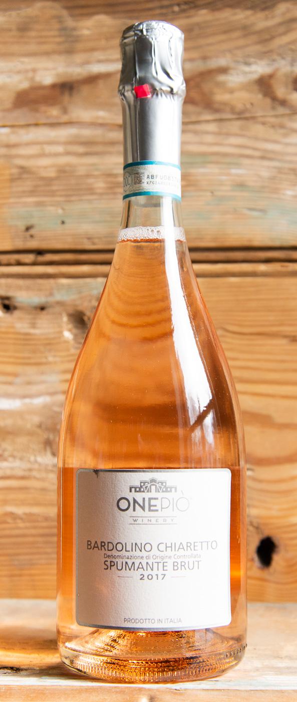 OnePio Bardolino Chiaretto Spumante 2017 - Origin: ItalyRetail: $19.95 | Sale: $17.95The Winery name comes from the term