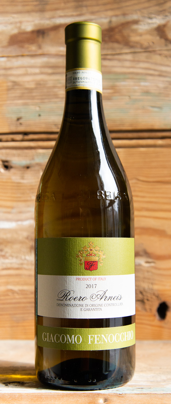 Fenocchio Roero Arneis 2017 - Origin: ItalyRetail: $22.95 | Sale: $20.65The Fenocchio estate was founded in 1864 and for over five generations. With its twelve hectares of vineyards in the heart of the Barolo production zone, it produces and ages important wines, following in the footsteps of traditions handed down from father to son. Crafted by one of Barolo's finest producers, this classic Arneis will not disappoint. It's loaded with creamy Granny Smith and mineral sensations, accompanied by hints of Alpine herbs. The palate is structured but restrained, with a long, quenching finish.100% Arneis