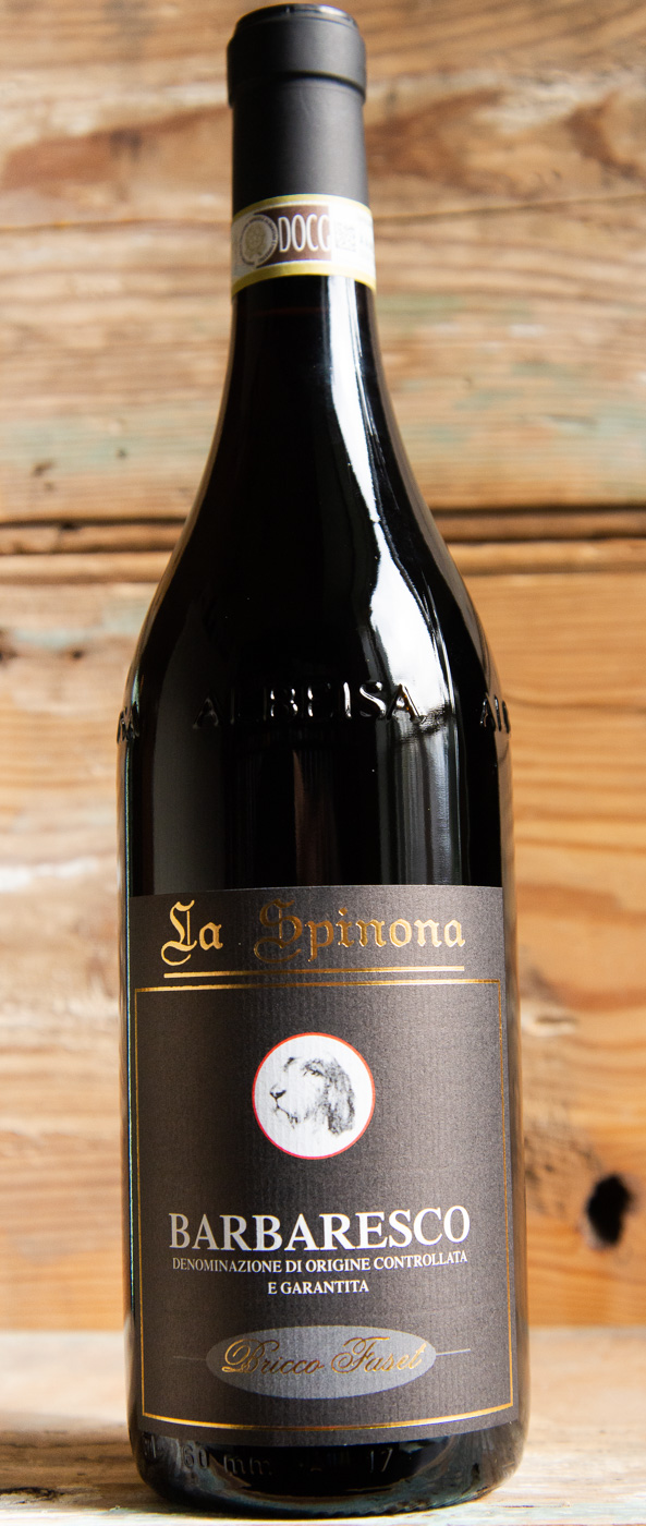 Spinona Bricco Faset Barbaresco 2012 - Origin: ItalyRetail: $47.95 | Sale: $43.15La Spinona consists of 54 acres of organically cultivated land in the Barbaresco township. The 2012 Bricco Fasét hits the palate with a burst of sweet dark cherry, plum, tobacco, licorice, leather and smoke. This single vineyard Barbaresco offers plenty of depth and intensity. The palate is mouth-filling and well-structured with a full, velvety body and an austere, long finish that includes fresher citrus undertones. It's already approachable but will continue to drink well over the next several years.100% Nebbiolo92 Points Wine EnthusiastOrganic