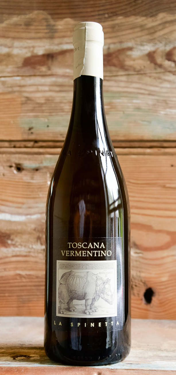 La Spinetta Toscana Vermentino 2018, - Origin: ItalyRetail: $20.95 | Sale: $18.85Giorgio Rivetti, owner and winemaker of La Spinetta in Barbaresco, has become one of the leading forces in Piedmont. Giorgio prefers to make wines that are indigenous to Piedmont, characteristic of the terrain in which the grapes are cultivated, reflecting a taste that is indisputably identifiable with their land of origin. Vermentino is the typical white wine of Tuscany so this was a natural varietal for him to work with. The nose is redolent of green apple and white grapefruit along with a light, gravelly mineral note. With a touch of ginger spice and floral notes coming through on the finish, this is a refreshing white.100% Vermentino