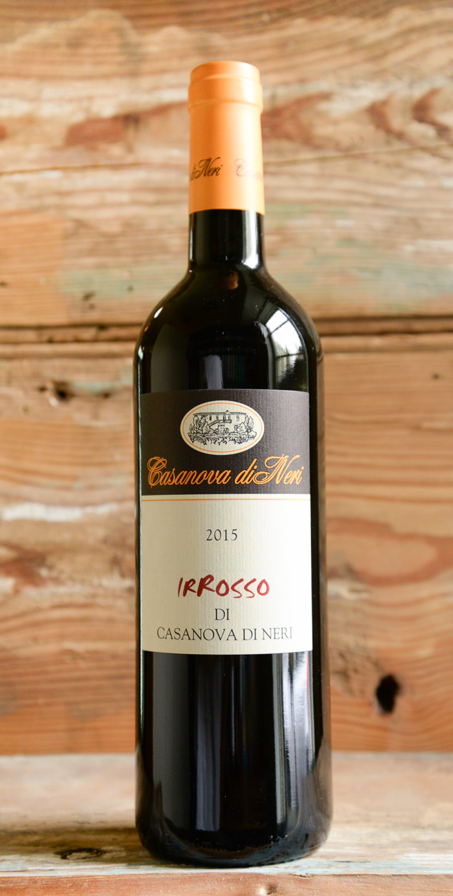 Casanova Di Neri 'Ir Rosso' Toscana 2015 - Origin: ItalyRetail: $23.95 | Sale: $21.55This wine is born from the grapes of the
