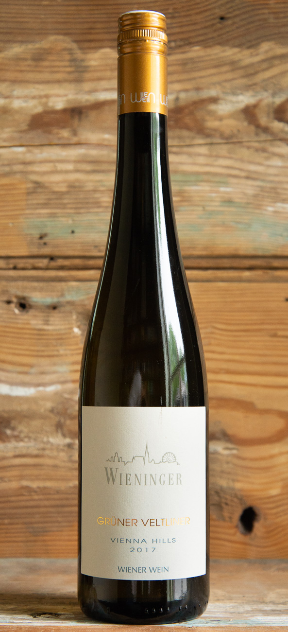 Wieninger Grüner Veltliner 2017 - Origin: AustriaRetail: $19.95 | Sale $17.95Fritz Wieninger is the leading wine producer in the city of Vienna. Grüner Veltliner is the signature grape of Austria and this wine is a prime example. Sage, lemon and ripe pear make for an intriguing nose. The palate is juicy, guided on the slender light body by bright lemony citrus tones.The bright acidity and savory character make it an ideal partner to mildly spiced Asian cuisine. It can also work well with all of your spring vegetables that are difficult to pair with such as watercress or asparagus.100% Grüner Veltliner