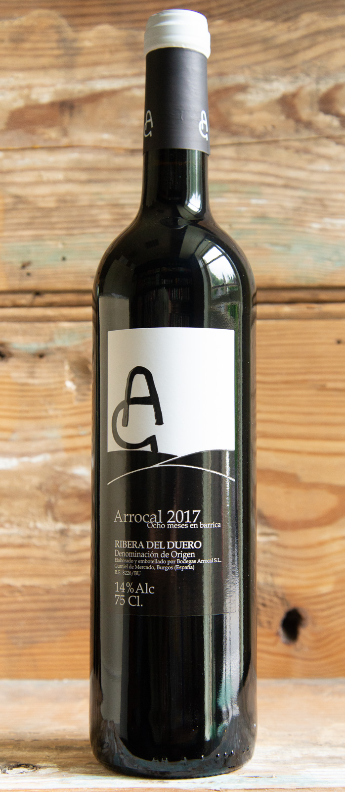 Bodegas Arrocal Ribera Del Duero 2017 - Origin: SpainRetail: $18.95 | Sale: $17.05Bodegas Arrocal is a winery where several generations work side by side embracing modern technique to produce stunning Old World wine. This quintessential example of Ribera del Duero features a pretty bouquet of plums and cherries, with a touch of herb. It has a solid foundation of spicy oak and is full-bodied and moderately tannic, with a fine core of well-balanced fruit on the finish.100% Tempranillo90 Points Vinous