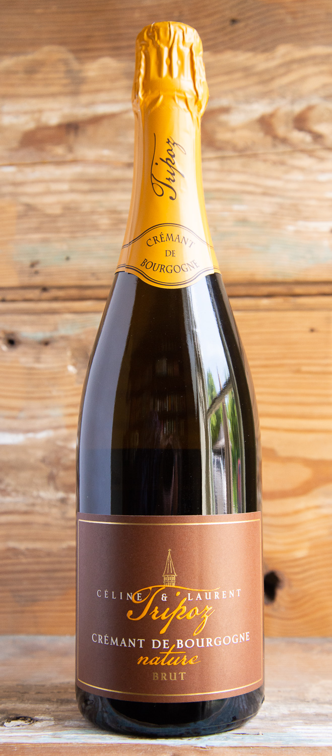 Celine Laurent Cremant de Bourgogne Tripoz NV - Origin: FranceRetail: $27.95 | Sale: $25.15Celine and Laurent Tripoz started their domaine in 1986, selling grapes to the local cooperative before making their first wines in 1990. On eastern exposure and in clay loaded with limestone, the Tripoz family believes that the only way to get a sense of terroir in their wine is to work in the most natural manner. This estate-grown, hand-picked, 100% Chardonnay-based wine is refermented in bottle, riddled, and disgorged all at the domaine. This beautiful sparkling is comparable to a Blanc de Blanc Champagne with a touch of minerality from the Burgundian soil. On the palate it is bright and crisp, with notes of citrus and stone fruits that lead to a creamy, lush finish.100% ChardonnayBiodynamic