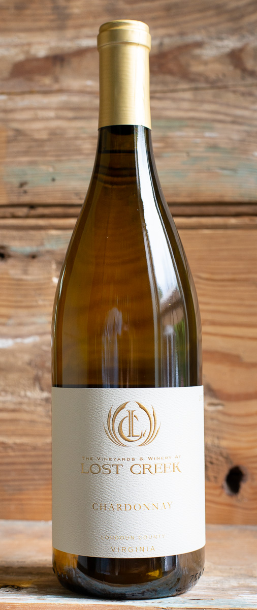 Lost Creek Chardonnay 2017 - Origin: VirginiaRetail: $21.95 | Sale: $19.75This boutique winery, nestled in the rolling hills of Northern Virginia just outside of Leesburg, has been in the works since 1998 on 16 acres of land. Whole-cluster pressed and then barrel-fermented in French Oak followed by 10 months of barrel aging with 20% new oak, this Burgundian-style Chardonnay is made from 100% estate grown grapes and owner/winemaker produced. It's a wonderfully balanced Chardonnay that walks the line between a fresh-fruited, low-oak style and a creamy, barrel-fermented style. An ideal pairing with salmon, Manchego cheese, or white pizzas.100% Chardonnay