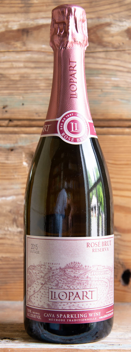 Llopart Rosé Brut Reserva 2015 - Origin: SpainRetail: $27.95 | Sale: $25.15The Llopart family has been dedicated to viticulture since 1385 and to the production of cava since 1887. More than 125 years of experience support the quality of these organic, family-produced wines. Located in Alt Penedés, Barcelona, their estate is comprised of 235 acres of exclusively organic vineyards. Planted on unique geologic formations, the mountain vineyards are located in a privileged microclimate at between 360m and 510m above sea level.This is an elegant Monastrell-driven Spanish sparkling wine that is lively and fun. Aromas of fresh strawberry and orange zest lead into a smoky mineral quality adding lift and complexity. Persistent bubbles linger with juicy tangerine fruits with a refreshingly bitter blood orange note that carries through on a long finish.60% Monastrell | 20% Garnacha | 20% Pinot Noir91 Points Jeb Dunnuck | 92 Points Vinous