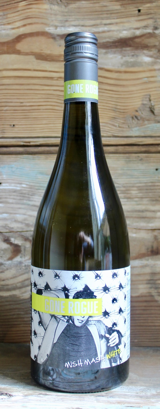 Gone Rogue Mish Mash White 2018 - Origin: Australia Retail: $21.95 | Sale: $19.75Not necessarily known for being the go to place for riesling, pinot gris or viognier in Australia, nevertheless this wine will surprise you. This highly aromatic wine is full of zesty citrus on the nose. The palate is floral with hints of spice and finishes with lovely acidity. The juicy mid-palate and textural minerality will leave you wanting more.68% Riesling 29% Pinot Gris3% Viognier