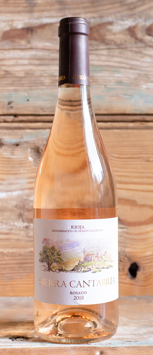 Sierra Cantabria Rioja Rosado 2018 - Origin: SpainRetail: $14.95 | Sale $13.45This rose from Rioja is clean and bright, making it the perfert summer sipper. Red berries and light notes of fresh fruit dance on the nose. The palate is fresh and well balanced, wrapped by the fruit and acidity of pomegranate, blackberry, and raspberry. Nose of red berries, aniseed light notes and nuances of fresh fruit, strawberry, blackberry, raspberry, pomegranate. The lively finish will leave you wanting more!60 % Viura | 30 % Garnacha | 10 % Tempranillo