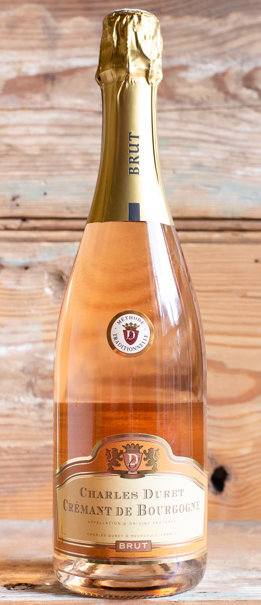Charles Duret Crémant de Bourgogne Rosé NV - Origin: FranceRetail: $18.95 | Sale: $17.05This sparking rosé from Burgundy has delicate, long-lasting bubbles that are proof of its traditional, bottle-fermented quality. Medium pink salmon color in the glass, this crémant offers ripe strawberries on the nose as well as the mouth with lemon and tangy orange-zest flavors. It's lush, balanced, and has a nice rich mousse texture. The perfect wine to served as an aperitif this weekend when celebrating all the fathers in your life! 100% Pinot Noir