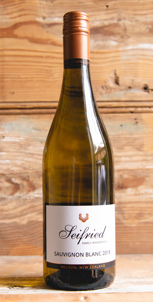 Seifried Sauvignon Blanc 2018 - Origin: New ZealandRetail: $19.95 | Sale $17.95Seifried Estate is a company devoted to sustainable winegrowing and producing the very best Nelson has to offer. The 'Seifried' Sauvignon Blanc is a premium Estate label, using only older vines, usually in excess of eight years of age. Lively fruit characters are evident on the clean nose with inviting notes of guava, passionfruit, and fresh herbs. The palate is generous with zesty tropical flavors balanced with a long, crisp mineral finish.100% Sauvignon BlancSustainable