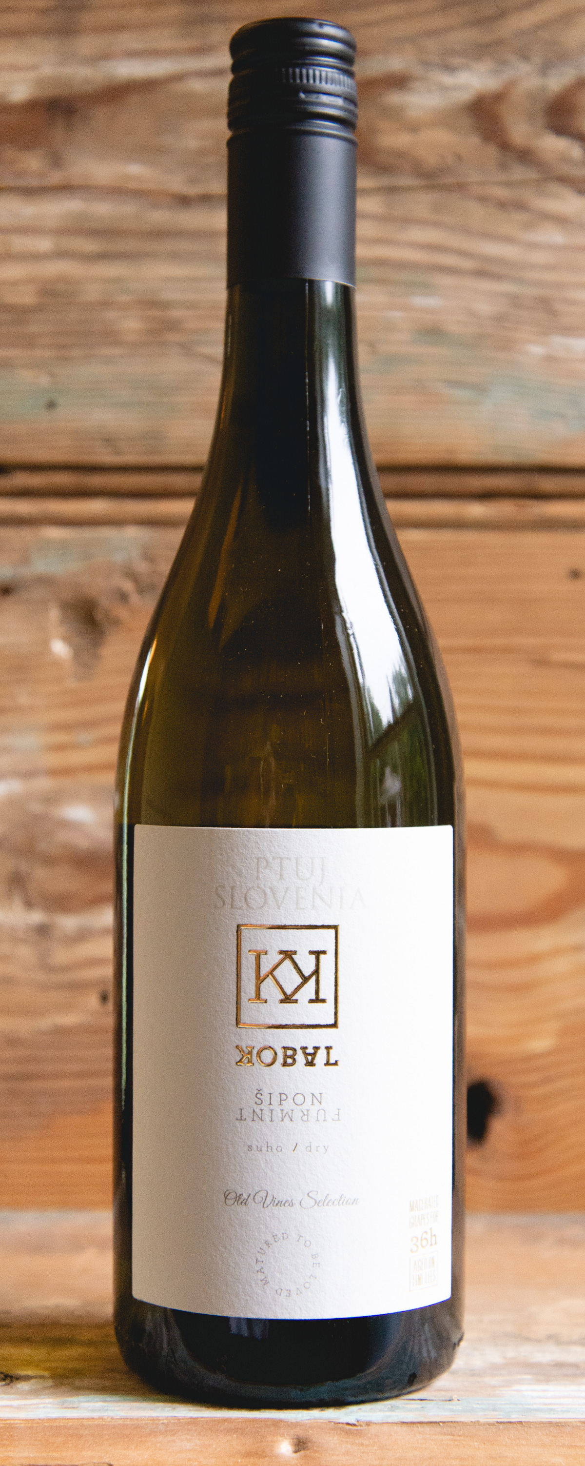 Kobal Furmint 2018 - Origin: SloveniaRetail: $20.95   Sale: $18.85Located in Posavje, Slovenia, the vineyards of Kobal are spread out over some of the finest winegrowing sites on the hills and slopes of the Bizeljsko-Sremic wine region. This area is a narrow strip along the northern bank of the Sava River, protected by the mountains from the harsh north winds and home to perhaps the best winegrowing conditions in the region. Kobal wines are produced from local grape varietals which are farmed in an environmentally-friendly manner. Aromas of citrus zest, white flowers and fresh apricot jump from the glass. The palate features an electric acidity and saline mineral profile highlighted by stone fruit, nuts and herbs. Enjoy with Locke cured meats or pork.Furmint