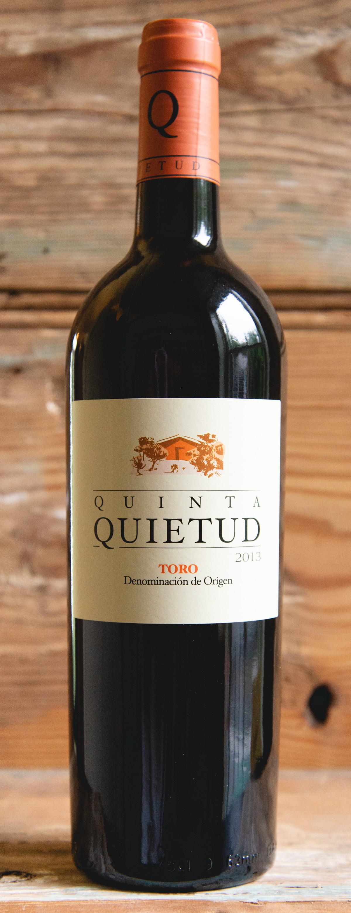 """Quinta de La Quietud Toro """"Le Quietud"""" 2013 - Origin: SpainRetail: $34.95   Sale: $31.45Coming from older vines, this wine spends two years in French Oak barrels before being bottled. The nose is powerful with complex aromas of fruit jam, licorice, and touches of graphite. The palate is full with velvety soft tannins. This is beautiful wine with lots of personality.100% Tempranillo"""