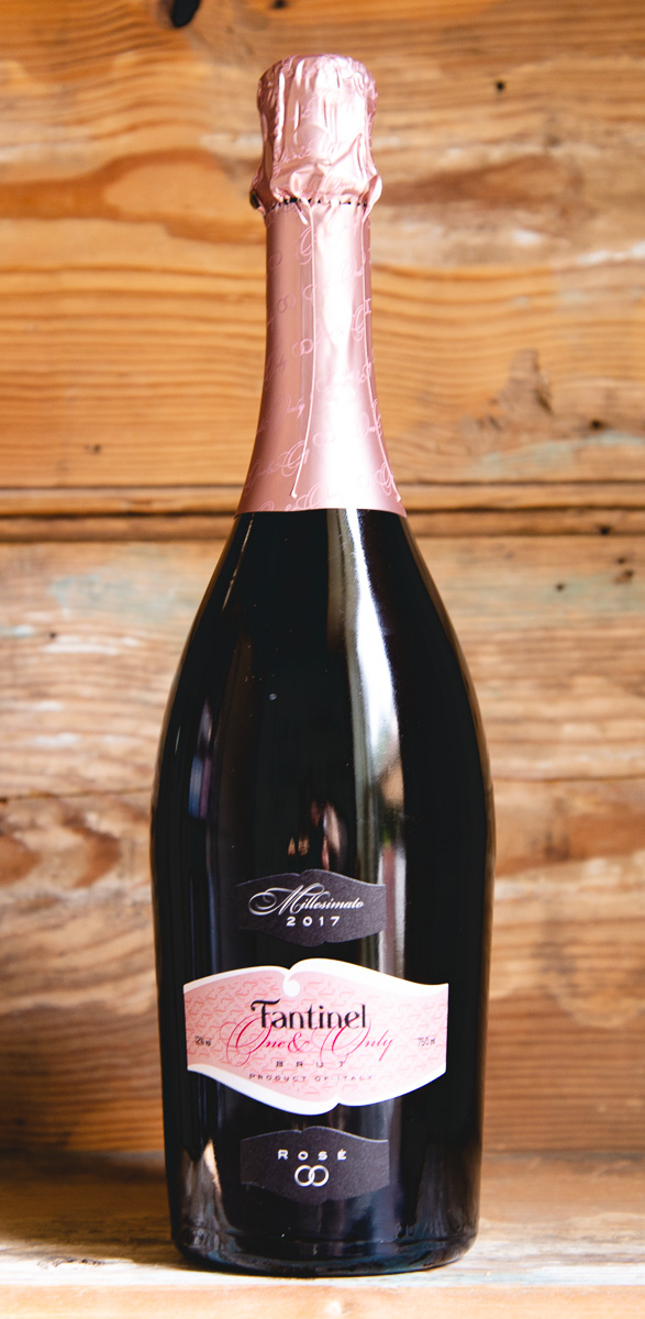 "Fantinel ""One & Only"" Brut Rosé 2017 - Origin: ItalyRetail: $19.95 