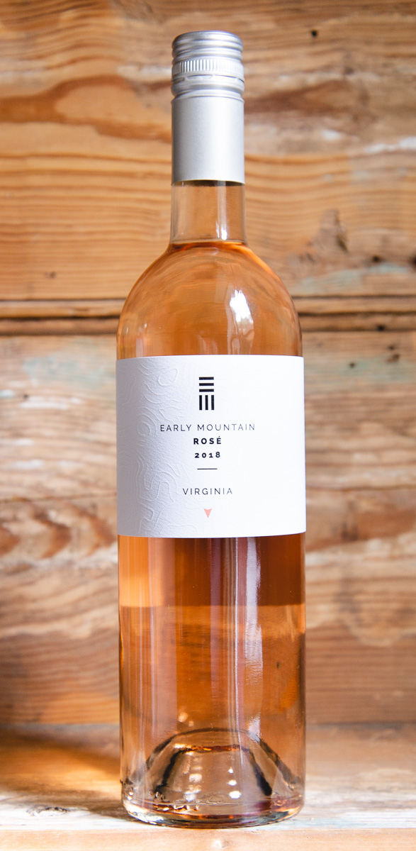 Early Mountain Rosé 2018 - Origin: VirginiaRetail: $19.95 | Sale: $17.95Nestled in the foothills of the Blue Ridge Mountains, Early Mountain Winery has more than 55 acres of vineyard. The pale, salmon color of this wine primes you for the strawberries, white peaches and floral aromas and flavors. The acidity brings a brightness to this fruit, and the wine lingers with wet stone and a pleasant citrus pith character. Created specifically to be food-friendly, there are not a lot of dishes that this rosé won't complement. Pair this fresh, bone-dry quencher with heavier, more fatty dishes like fried chicken and grilled salmon. Alternatively, the citrus and grapefruit notes pair beautifully with tangy goat cheeses or fresh ceviche. 73 Merlot | 18 Syrah | 7 Malbec | 2 Cabernet Franc