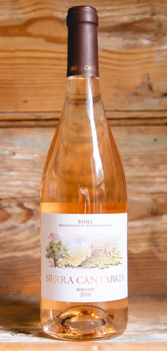 Sierra Cantabria Rioja Rosado 2018 - Origin: Spain Retail: $14.95 | Sale: $13.45This rosé from Rioja is clean and bright, making it the perfect summer sipper. Red berries and light notes of fresh fruit dance on the nose. The palate is fresh and well-balanced, wrapped by the fruit and acidity of pomegranate, blackberry, and raspberry. The lively finish will leave you wanting more! 60 Viura | 30 Garnacha | 10 Tempranillo