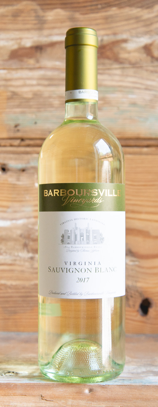 Barboursville Vineyards Sauvignon Blanc 2016 - Origin: VirginiaRetail: $21.95 | Sale: $19.75Barboursville Vineyards celebrates an entirely new generation of this wine at their estate. Planted in sites prepared specifically for their three clonal varieties, these grapes were brought from New Zealand for their adaptability to our warm growing conditions here in Virginia. Vivacious aromas of citrusy freshness join classic herbal notes, with lush kiwi on the palate. The wine finishes long and lively, making it extremely food friendly.Sauvignon Blanc