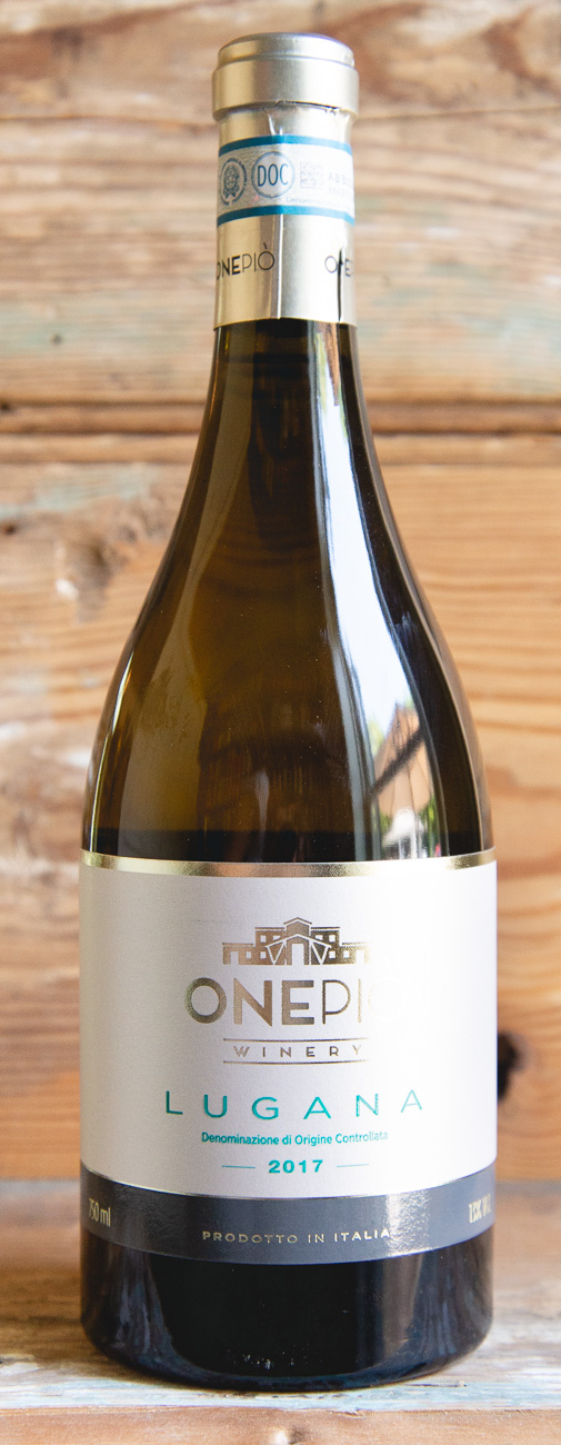 OnePio Lugana Bianco 2017 - Origin: Italy Retail: $14.95 | Sale: $13.45Fragrant aromas of almond, citrus and a slight touch of fresh pineapple welcome you into the glass. The palate is soft, harmonious and well-balanced with minerality and refreshing citrus, leaving you wanting more. Perfect as an aperitif or pair with a charcuterie board. Trebbiano di Lugana
