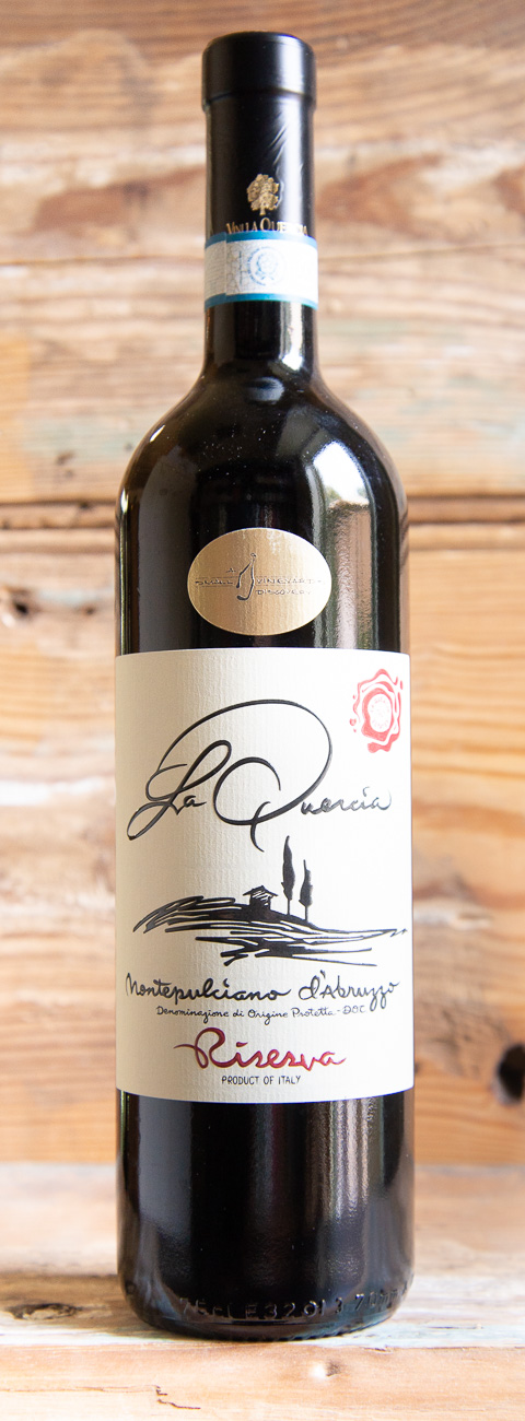 La Quercia Montepulciano d'Abruzzo Riserva 2015 - Origin: ItalyRetail: $25.95 | Sale: $23.35Made by winemaker Antonio Lamona, the result is one of the best quality, most expressive and balanced Montepulcianos around. Full-bodied, smooth, and packed with notes of blackberry, wild cherry, and spice. This is a flavourful and versatile wine that will pair with anything you put on the table. It's a fun combination of fruit and earthy, meaty rusticity.Montepulciano