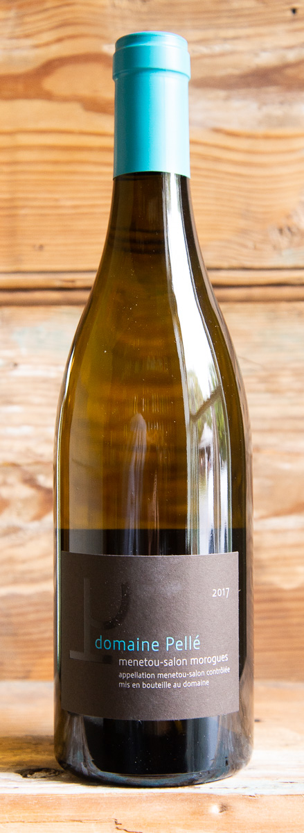 Pelle Menetou-Salon Morogues Blanc 2017 - Origin: FranceRetail: $25.95 | Sale: $23.35Domaine Pellé is a fourth-generation estate run by the talented and hard-working Paul-Henry Pellé. The winery was officially started in the 1950s, though earlier generations of the Pellé family had produced wine even before then, selling barrels to local Brasseries as far as Brouges in the early 20th century. Coming from the far eastern end of the Loire Valley from the under-the-radar appellation Menetou-Salon, this is a mineral-laden Sauvignon Blanc with aromas of white flowers and citrus fruits. The palate is racy, followed by a saline/mineral finish that gives this wine a beautiful clarity and precision. Sauvignon Blanc Organic.