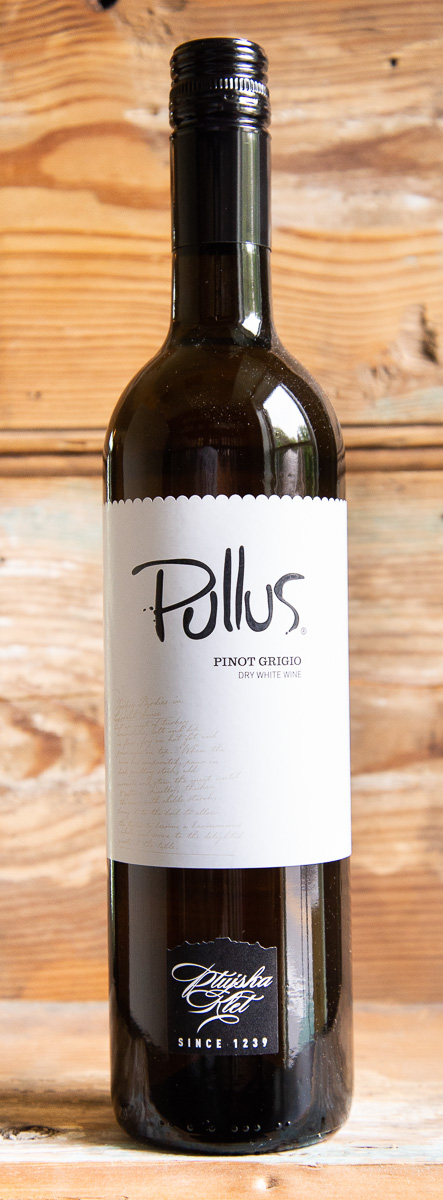 Pullus Stajerska Pinot Grigio 2017 - Origin: SloveniaRetail: $16.95 | Sale: $15.25Coming from the oldest winery in Slovenia, this is not your average Pinot Grigio. Ptujska Klet is located in the steep, winegrowing hills surrounding the city of Ptu, the oldest town in Slovenia. When fully ripe, the skin of Pinot Grigio has a dark pink, almost purple, color. The skins are left to macerate in the pressed juice for 72 hours, giving this wine the copper hued, rosé-like color that is its defining characteristic. Notes of fresh lime and pear are complemented by a textured mouthfeel and minerality that comes from the extended skin contact. It's clean, crisp, and refreshing, yet still complex. It's lovely enough to enjoy on its own or pair with pasta, white meat, or young cheeses. Pinot Grigio