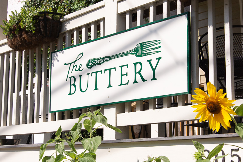 The Buttery Is Open! - Join us at our new eatery next door, The Buttery!Open for dinner this Thursday, 5pm-9pm and for brunch Sunday 10am-2pm.Closed Friday, August 23rd for a Private Event.