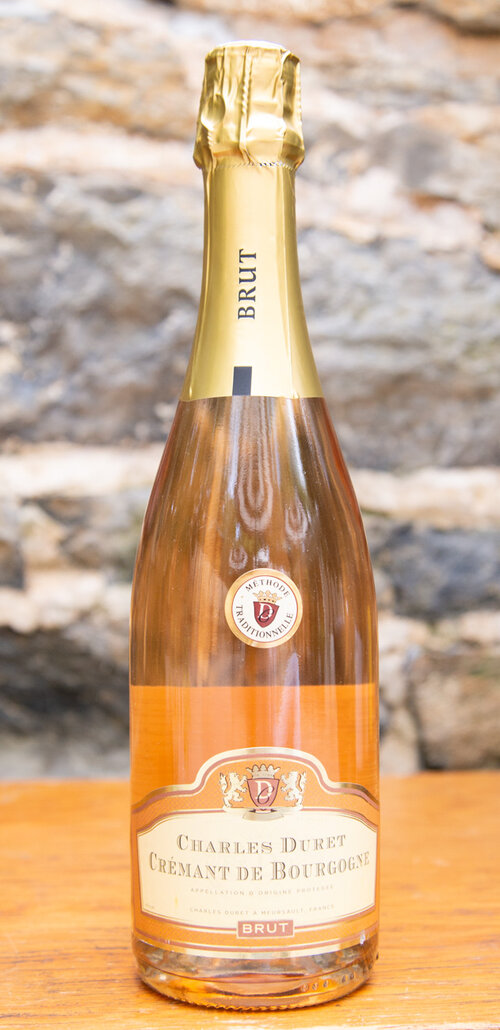 Charles Duret Crémant de Bourgogne Rosé NV - Origin: FranceRetail: $18.95 | Sale: $17.05This sparking rosé from Burgundy has delicate, long-lasting bubbles that are proof of its traditional, bottle-fermented quality. With a medium-pink salmon color in the glass, this crémant offers ripe strawberries on the nose as well as the mouth with lemon and tangy orange-zest flavors. It is lush, balanced, and has a nice rich, mousse texture. The perfect wine to serve as an aperitif this weekend!Pinot Noir