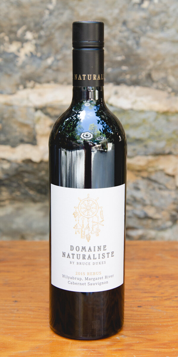 Domaine Naturaliste Rebus Cabernet Sauvignon 2015 - Origin: AustraliaRetail: $29.95 | Sale: $26.95 Domaine Naturaliste Vineyard is located in the heart of the Wilyabrup sub-region of Margaret River in Western Australia. The Rebus Cabernet Sauvignon has an intricate tapestry of glazed cherries, violets and graphite, deftly woven into a palate laden with flavors of red currants, cacao nib and plum skin. Bristling tannin on the entry and a core of licorice, black berries and slate, finish with a persistent and ever-changing mineral finish. Cabernet SauvignonSustainable.