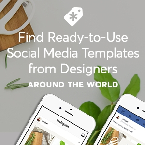 Find Ready-to-use social media templates from designers around the world. thanks to Creative Market!