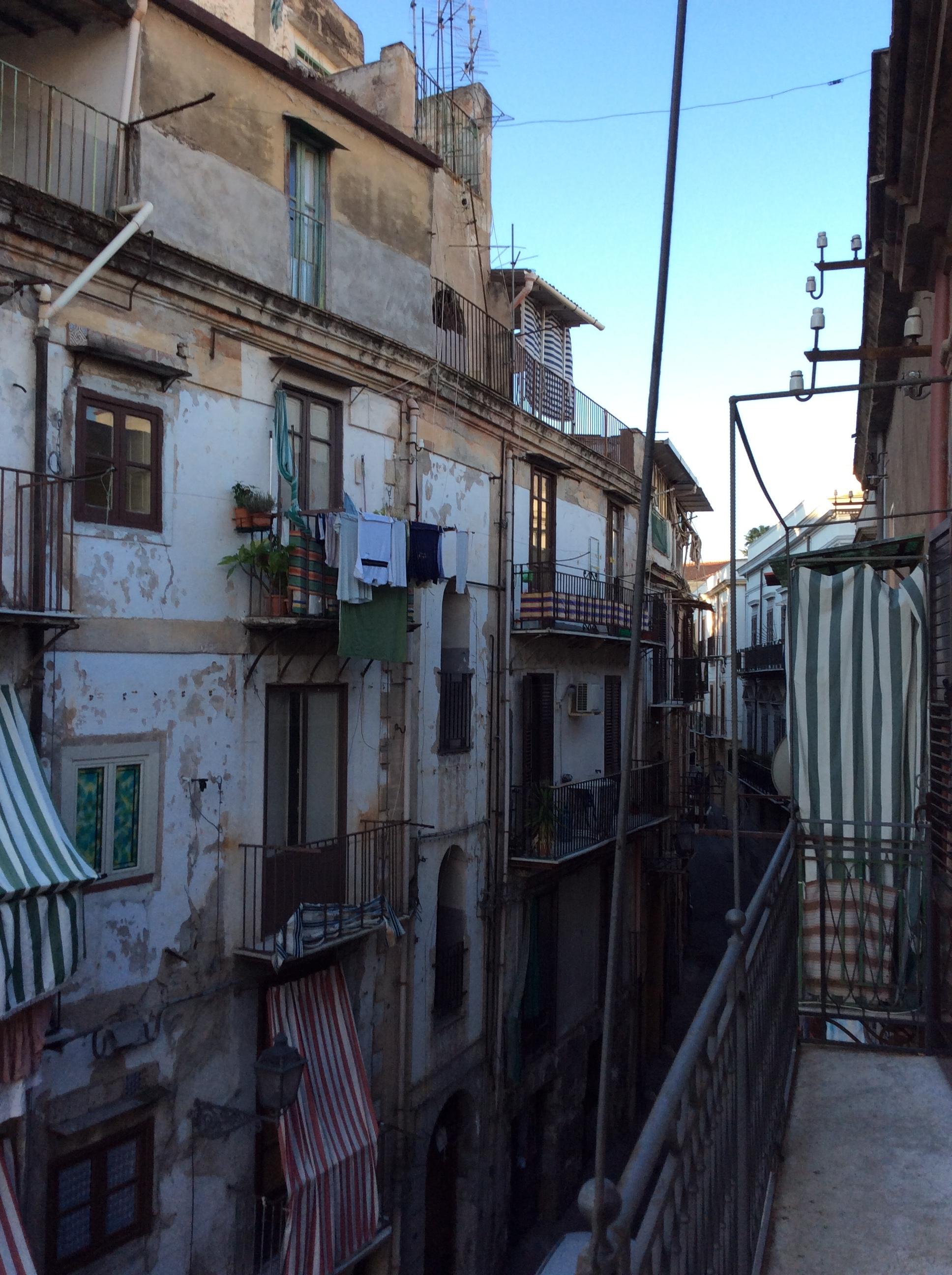 Une rue de Palerme (octobre 2015)